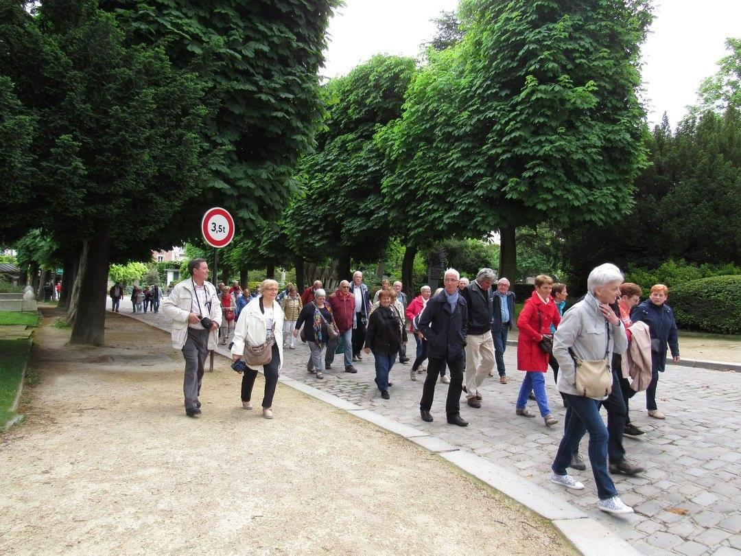 Voyage du CCAS à Paris
