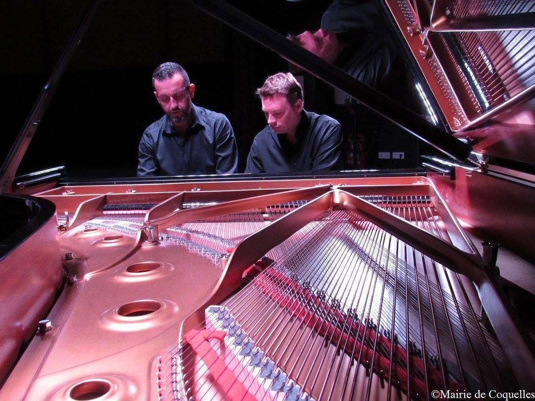 Récital 4 mains avec Matthieu Vasseur et Sylvain Demilly