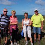 Les randonneurs au Cap Gris-Nez par les falaises