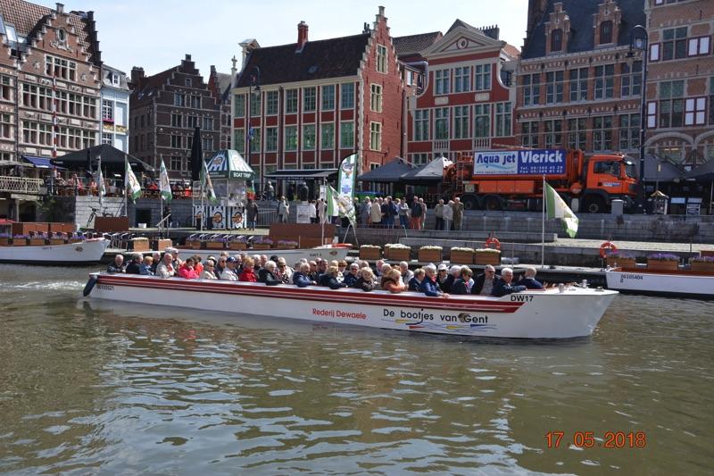 Voyage à Gand organisé par le CCAS
