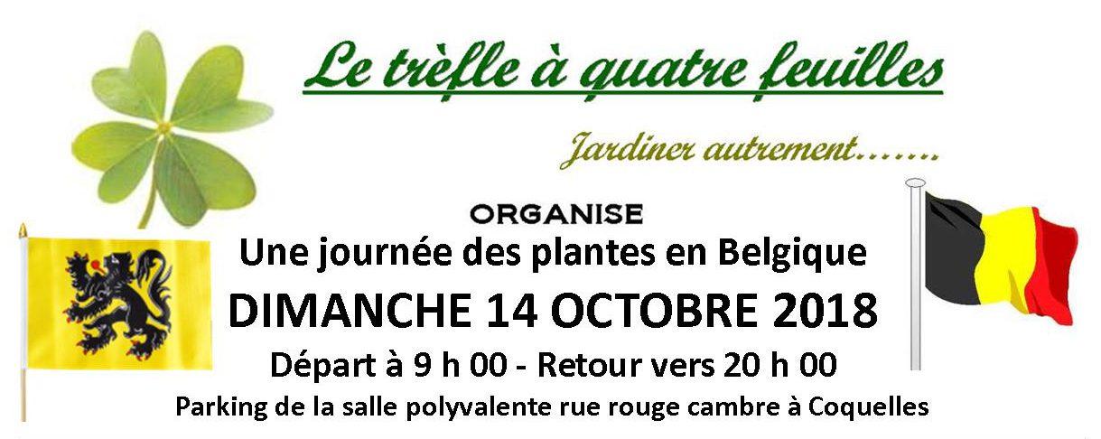 Journée des plantes en Belgique