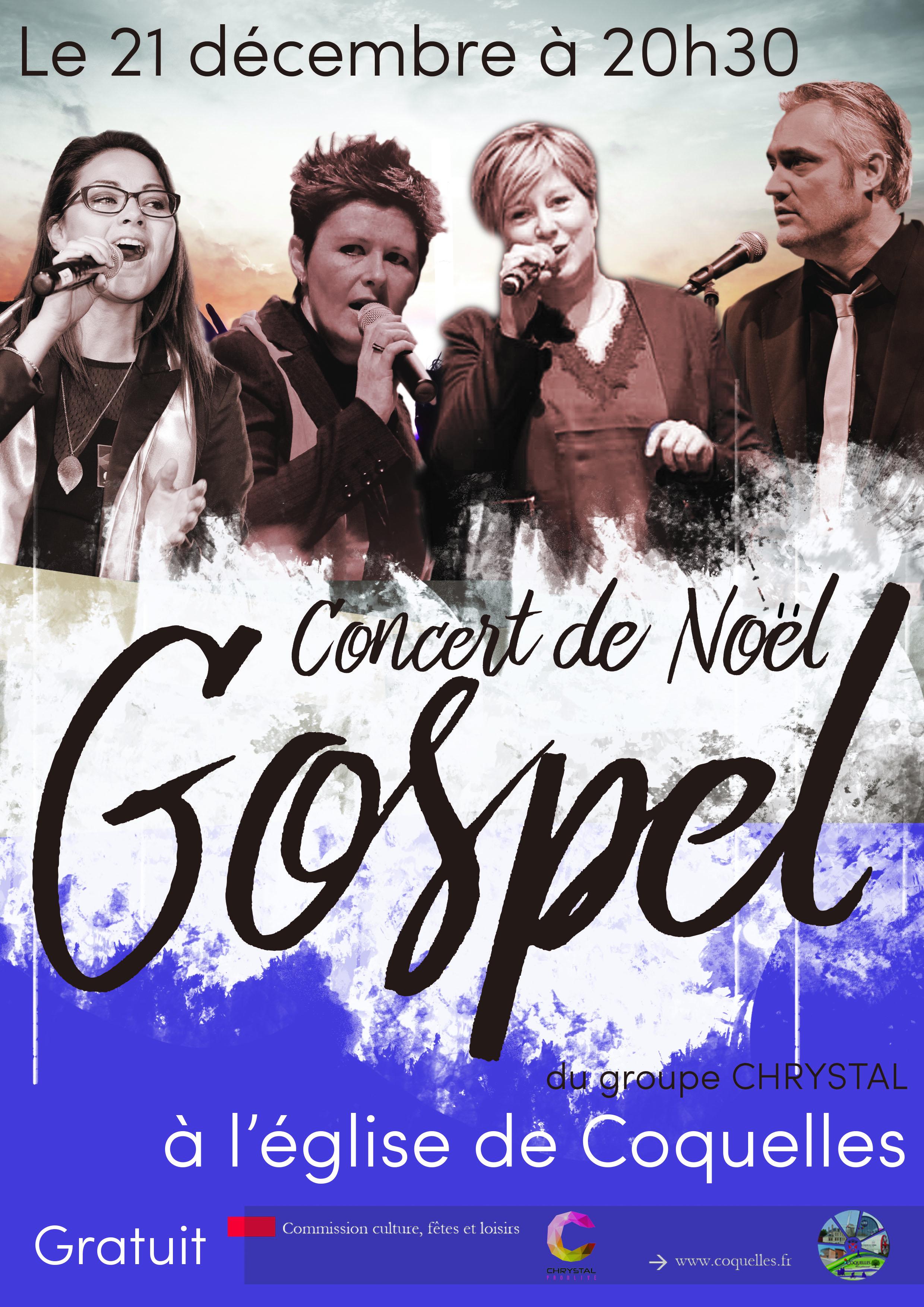 Concert Gospel de Noël