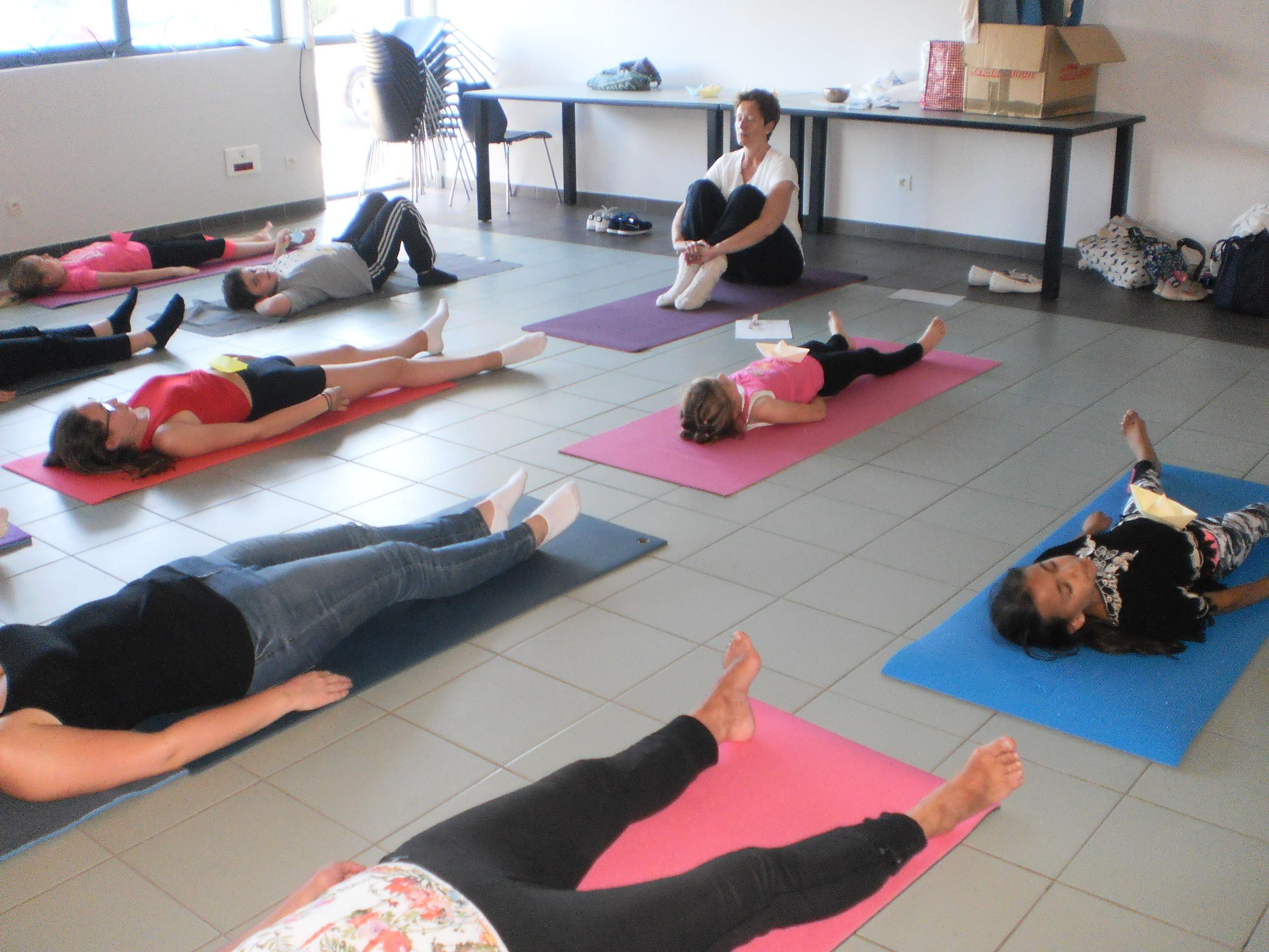"""Atelier découverte du Yoga """" Petits et grands"""""""