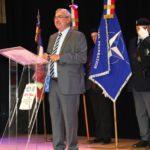 Réception à Coquelles suite à la cérémonie officielle de l'OTAN