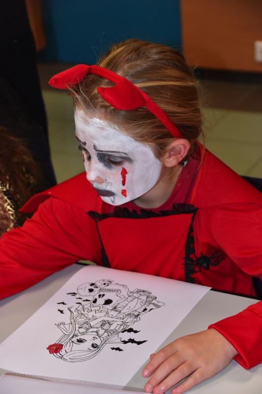 Soirée Halloween organisée par l'ABEC à la médiathèque