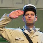 Le gendarme de ST-Omer avec le CCAS